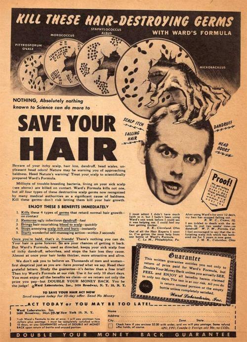 hair ad
