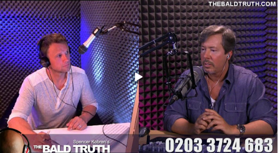 Bald truth radio show UK
