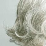 Grey hair hair loss