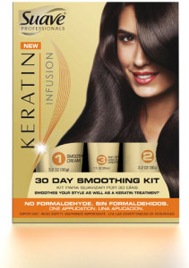 Suave Professionals Keratin Infusion 30-Day Smoothing Kit