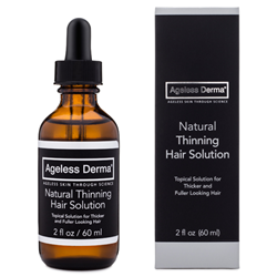 Ageless Derma Launches Its All Natural Solution For Thinning Hair