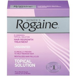 Rogaine women hair loss