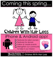 Children With Hair Loss is Coming to the App Store