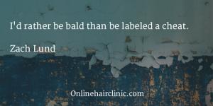baldness quote