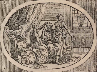The Man and His Two Wives Aesop