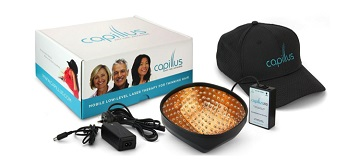Capillus laser cap for hair loss