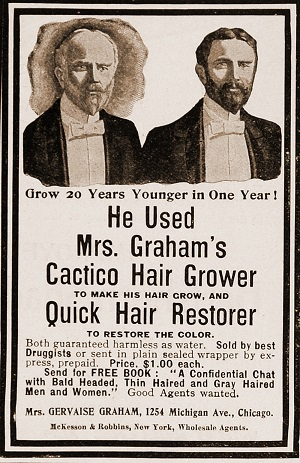 Hair growth ads