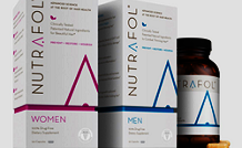 Nutrafol Hair Loss and thinning hair vitamins for men and women