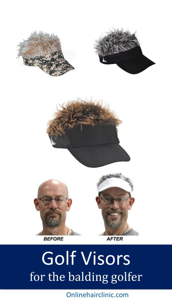 golf caps to beat baldness