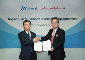 JW Shinyak to sell Rogaine in Korea