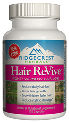RidgeCrest Herbals Wins Award for Hair Revive