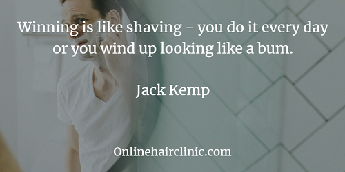 shaving quotations