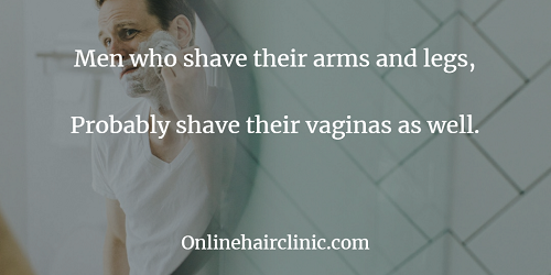 men who shave their arms and legs
