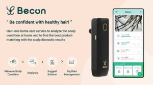 Becon scalp home-care service to prevent hair loss