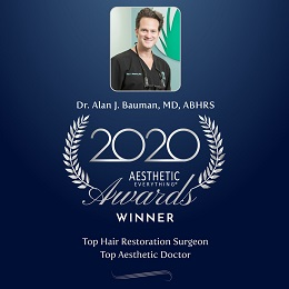 Dr. Bauman is a pioneer of some of the most advanced technologies in the field of hair restoration